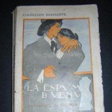 Libros antiguos: 1910 - MANUEL CARRETERO - LA ESPUMA DE VENUS - COLECCIÓN DIAMANTE. Lote 49790174