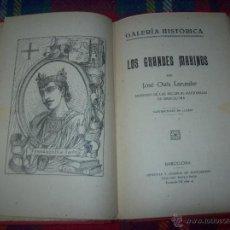 Libros antiguos: LOS GRANDES MARINOS.JOSÉ OSÉS LARUMBE.ILUSTRACIONES DE LLOBET.GALERÍA HISTÓRICA.UNA JOYITA.. Lote 49865738