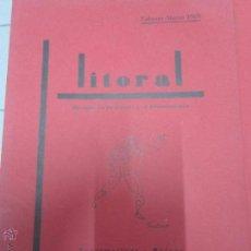 Libros antiguos: LITORAL 6. Lote 49884857