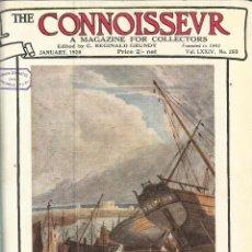 Libros antiguos: COLECCIÓN DE 4 NÚMEROS ENCUADERNADOS DE LA REVISTA THE CONNOISER. 1926 . Lote 49936381