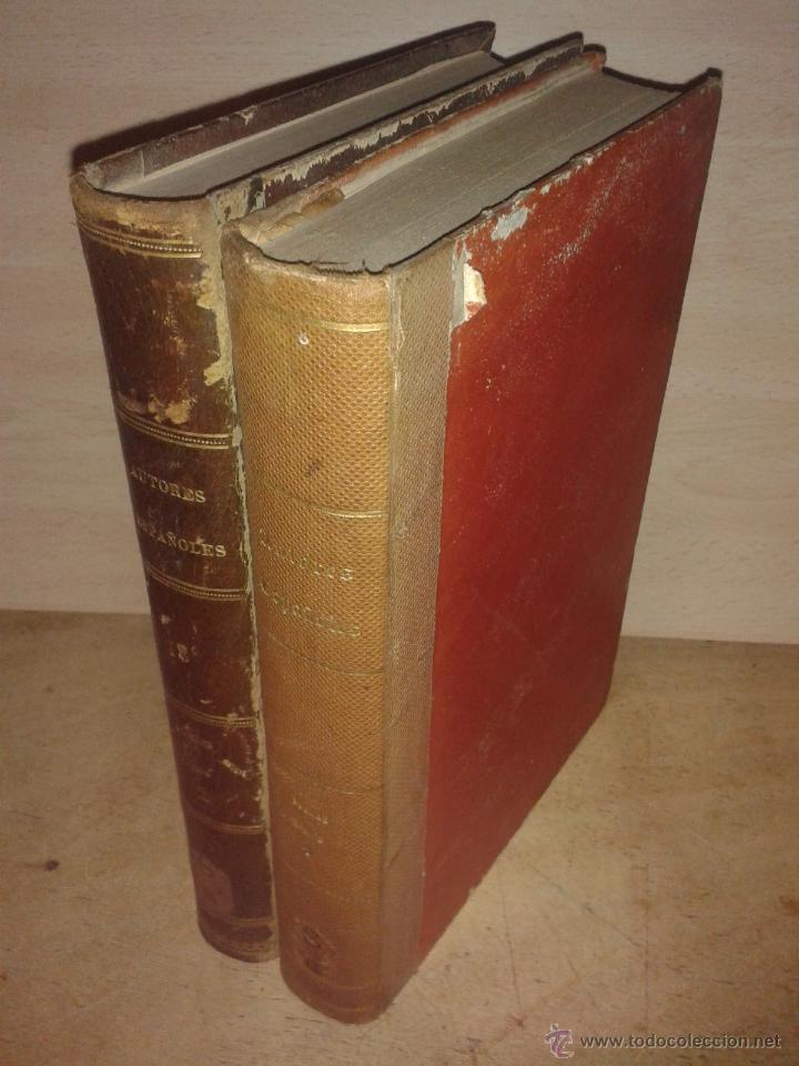 POEMAS EPICOS (2 VOLUMENES). COLECCION DISPUESTA Y REVISADA, CON NOTAS BIOGRAFICAS Y UNA ADVERTENCIA (Libros Antiguos, Raros y Curiosos - Historia - Otros)