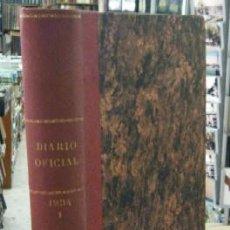 Libros antiguos: DIARIO OFICIAL DEL MINISTERIO DE GUERRA. AÑO 1934. TOMO I, PRIMER TRIMESTRE A-REPUB-260. Lote 49973729