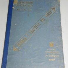 Libros antiguos: LIBRO TEORÍA Y PRÁCTICA DEL CORTE. SISTEMA FERRER. FERRER, MARÍA DEL PILAR. CONTIENE MUCHISIMOS PATR. Lote 49991137