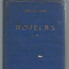 Libros antiguos: NOVELAS LOPE DE VEGA, TOMO II, LIBRERÍA BERGUA MADRID 1935, ENC. TELA ED., LEER. Lote 50032265