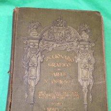 Alte Bücher - DICCIONARIO GRAFICO DE ARTE Y OFICIOS - TOMO III - J. LAPOVLIDE - 50047260