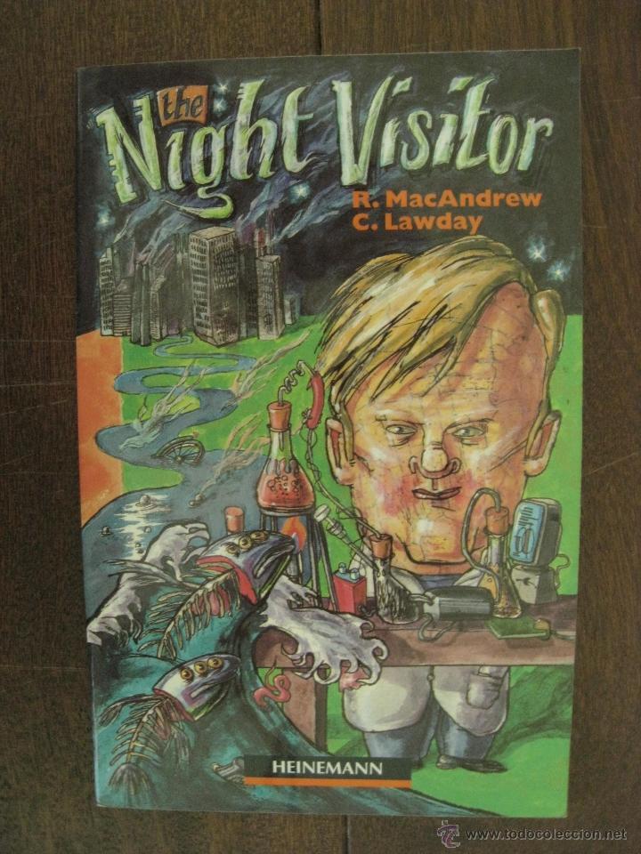Libros antiguos: THE NIGHT VISITOR - R. MAC ANDREW / C. LAWDAY - INGLES - Foto 4 - 50053660