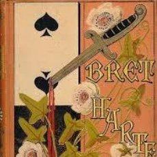 Libros antiguos: [ENCUADERNACIÓN - TIPOGRAFÍA ART DECÓ: ] HARTE, BRET. BOCETOS CALIFORNIANOS. (1883). Lote 116610656