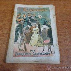 Libros antiguos: EL RECUERDO DE GLORIA POR FLORENCIO CASTELLANO. LA NOVELA POPULAR. N.º 23. Lote 50069662