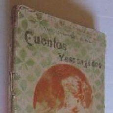 Libros antiguos: CUENTOS VASCONGADOS . Lote 50095298