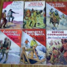 Libros antiguos: 6 LIBROS COLECCIÓN -- THE ADVENTURE LIBRARY SERVICE COURAGEOUS POR DON CAMERON SHAFER Nº 172 – 1912. Lote 50096109