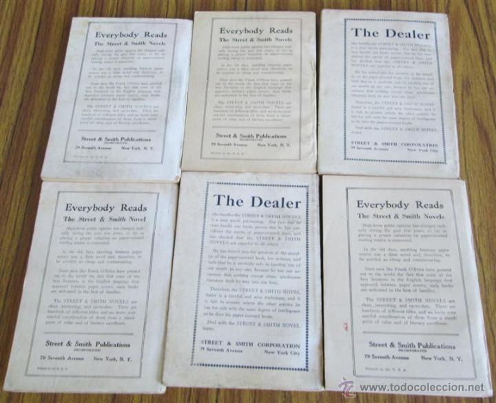 Libros antiguos: 6 libros colección -- The adventure library SERVICE COURAGEOUS por Don Cameron Shafer nº 172 – 1912 - Foto 2 - 50096109
