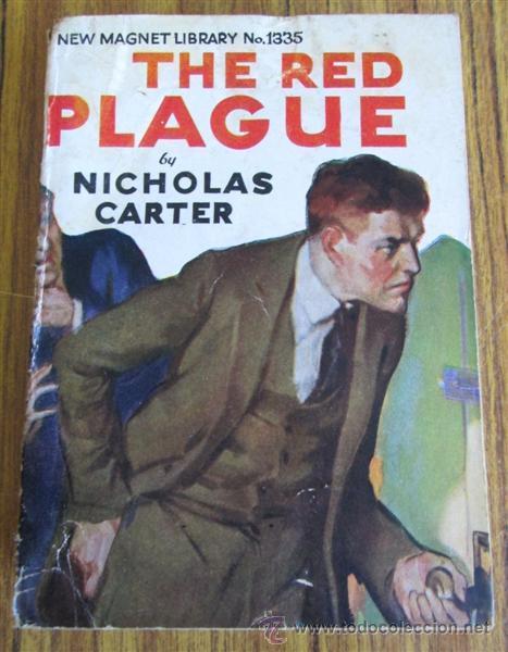 Libros antiguos: 10 libros colección - New magnet library Por Nicholas Carter THE MAN THEY HALD BACK nº 1344 – 1915 - Foto 3 - 50096176