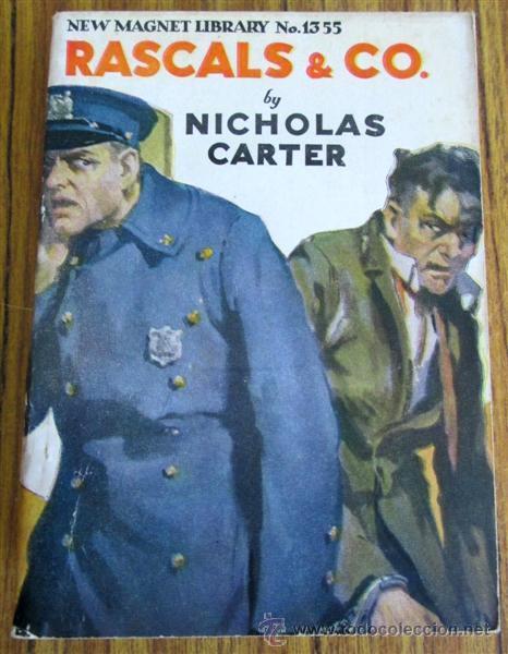 Libros antiguos: 10 libros colección - New magnet library Por Nicholas Carter THE MAN THEY HALD BACK nº 1344 – 1915 - Foto 4 - 50096176