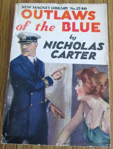 Libros antiguos: 10 libros colección - New magnet library Por Nicholas Carter THE MAN THEY HALD BACK nº 1344 – 1915 - Foto 6 - 50096176