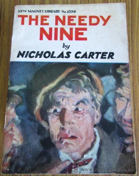 Libros antiguos: 10 libros colección - New magnet library Por Nicholas Carter THE MAN THEY HALD BACK nº 1344 – 1915 - Foto 9 - 50096176