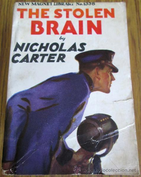 Libros antiguos: 10 libros colección - New magnet library Por Nicholas Carter THE MAN THEY HALD BACK nº 1344 – 1915 - Foto 11 - 50096176