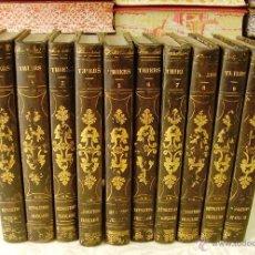 Libros antiguos: HISTOIRE DE LA RÉVOLUTION FRANÇAISE . ( 10 VOLS ) . AUTOR : THIERS, M.A. . Lote 50101034
