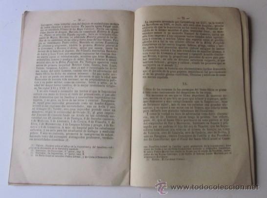 Libros antiguos: LA INQUISICION FOTOGRAFIADA - AÑO 1880 - Foto 4 - 50104779