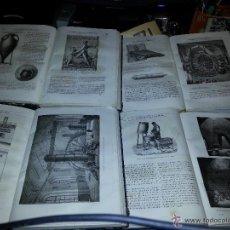 Libros antiguos: LAS MARAVILLAS DE LA INDUSTRIA -LUIS FIGE-SIGLO XIX 4 TOMOS. Lote 50107659