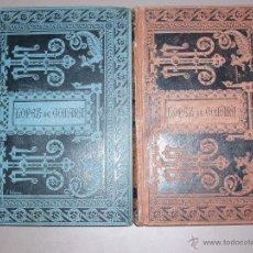 Libros antiguos: LÓPEZ DE GÓMARA CONQUISTA DE MEJICO TOMO I Y II 1887-1888. Lote 50117432
