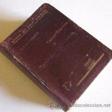 Libros antiguos: MANUAL PRACTICO DEL MONTADOR ELECTRICISTA - AÑO 1905. Lote 50122370
