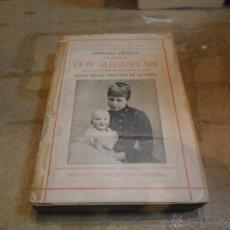 Libros antiguos: GABRIEL MAURA GAMAZO, HISTORIA CRITICA DEL REINADO DE D.ALFONSO XIII, MONTANER SIMON, BARCELONA. Lote 50131112