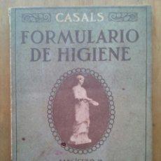 Libros antiguos: FORMULARIO DE HIGIENE, PROFILAXIS Y TERAPÉUTICA DEL CABELLO... / CASALS / AÑO 1918 / HENRICH Y Cª. Lote 204622925