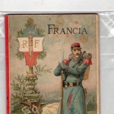 Libros antiguos: ANTIGUO LIBRO , 1896 , FRANCIA , SU HISTORIA GEOGRAFIA ARTE Y CONSTUMBRES , POR ALFREDO OPISSO , LEE. Lote 50278515