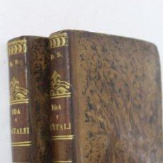 Libros antiguos: L- 1624. IDA Y NATALIDA. VIZCONDE DE ARLINCOURT. 1841. DOS TOMOS.. Lote 50281043