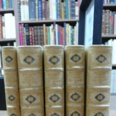 Libros antiguos: TIRANT LO BLANC. ELS NOSTRES CLASSICS. EDICIÓ DE 150 EX. PAPER DE FIL. BONICA ENQUADERNACIÓ. 1924-29. Lote 50284145