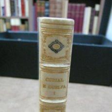 Libros antiguos: CONSOLAT DE MAR I. ELS NOSTRES CLÀSSICS. ED. 120 EXEM. PAPER DE FIL. BONICA ENQUADERNACIÓ. 1930.. Lote 50284635