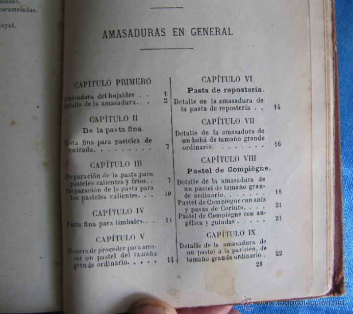 Libros antiguos: PASTELERÍA Y REPOSTERÍA FRANCESA Y ESPAÑOLA. POR P. R. MACOSTA. CASA EDITORIAL GARNIER, PARÍS, S/F. - Foto 7 - 50291376