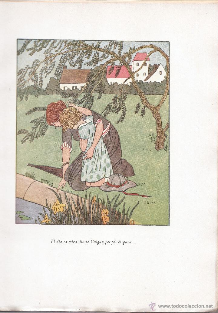 Libros antiguos: EL BON DÉU ENTRE ELS INFANTS - FRANCIS JAMMES - F. CAMPS CALMET - TÁRREGA 1936 - EN CATALÁN. - Foto 3 - 50307904