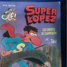 Libros antiguos: LIBRO SUPER LOPEZ LOS CERDITOS DE CAMPRODON . Lote 50337601