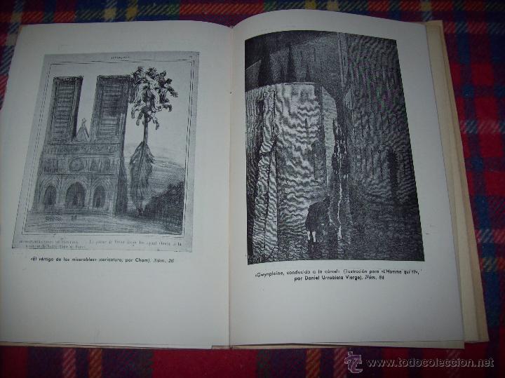 ab887aa6bc377 Libros antiguos  EXPOSICIÓN VICTOR HUGO(DIBUJOS ORIGINALES