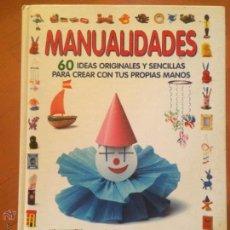 Libros antiguos: LIBRO PARA NIÑOS MANUALIDADES 60 IDEAS ORIGINALES Y SENCILLAS EDITORIAL SUSAETA. Lote 50368844
