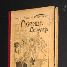 Libros antiguos: LIBRO AGENDA CULINARIA 1926 DUQUESA LAURA CON RECETAS PARA TODO EL AÑO. Lote 50391492