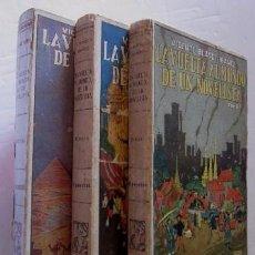Libros antiguos: LA VUELTA AL MUNDO DE UN NOVELISTA - 3 TOMOS - VICENTE BLASCO IBAÑEZ - AÑO 1924/1925. Lote 50397915