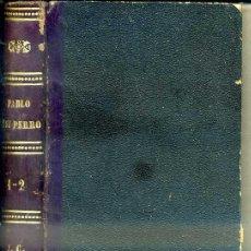 Libros antiguos: PAUL DE KOCK : PABLO Y SU PERRO (MANERO, 1875). Lote 50409056
