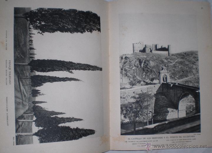Libros antiguos: Libro 200 laminas de Toledo años 30 - Foto 2 - 50411706