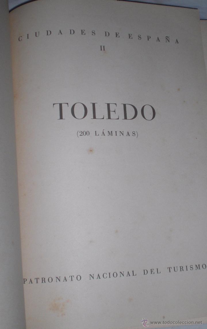 Libros antiguos: Libro 200 laminas de Toledo años 30 - Foto 5 - 50411706