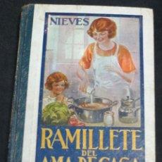 Livres anciens: RAMILLETE DEL AMA DE CASA NIEVES GRÁFICAS SUMMA AÑO 1952. Lote 50425777