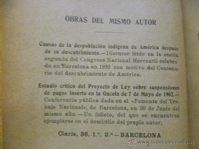 Libros antiguos: DOCUMENTOS MERCANTILES. FRANCISCO GRAU GRANELL. MANUALES SOLER - Foto 6 - 50431679
