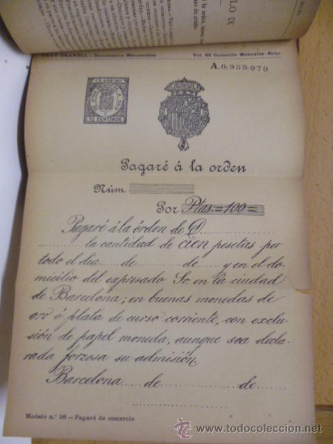 Libros antiguos: DOCUMENTOS MERCANTILES. FRANCISCO GRAU GRANELL. MANUALES SOLER - Foto 14 - 50431679