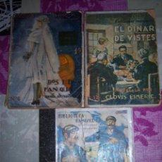 Libros antiguos: 3 LIBROS DE CLOVIS EIMERIC ( ELS DOS TARTANERS - EL DINAR DE VISTES - DOS I DOS FAN QUATRE ). Lote 50455720