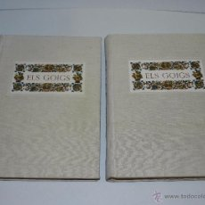 Libros antiguos: (M) JOAN AMADES I JOSEP COROMINES - ELS GOIGS ( 2 VOLS ) EDT ORBIS, EDICION NUMERADA. Lote 50517533