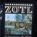 Libros antiguos: ZÖTL - JULIO CORTAZAR - BESTIARIO - FRANCO MARIA RICCI - ED. NUMERADA - BIBLIOFILIA. Lote 50517870