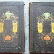 Libros antiguos: HISTORIA DE GIL BLAS DE SANTILLANA I-II 1857 LA MARAVILLA IMP LUIS TASSO, BON ESTAT V FOTOS. Lote 50579239