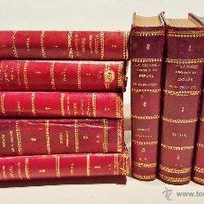 Libros antiguos: HISTORIA DE ESPAÑA EN EL S. XIX. F.PI Y MARGALL Y F.PI Y ARSUAGA. 8 TOMOS ILUSTRADOS. BARCELONA 1902. Lote 50585838