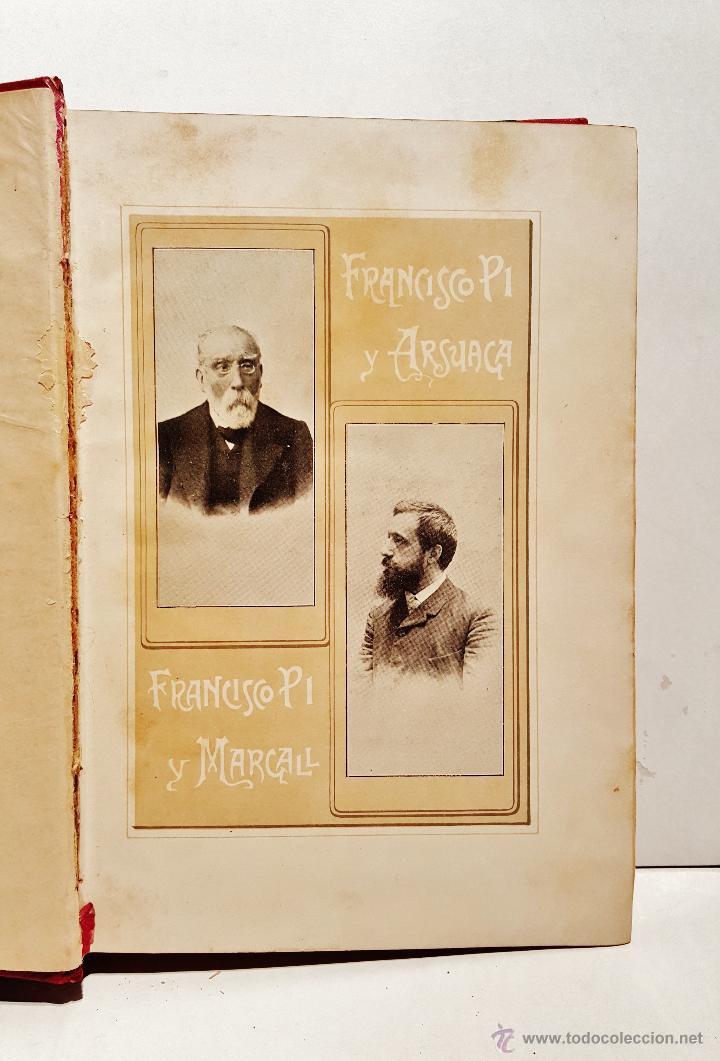 Libros antiguos: Historia de España en el s. XIX. F.Pi y Margall y F.Pi y Arsuaga. 8 tomos ilustrados. Barcelona 1902 - Foto 2 - 50585838